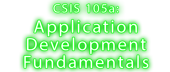 CSIS 125A:Web Development- Level2
