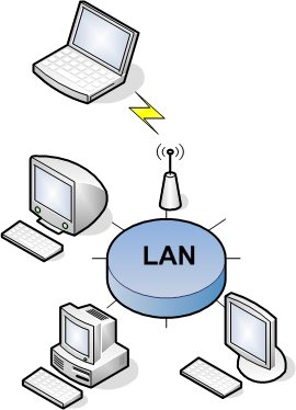 image of a Local Area Network (LAN)