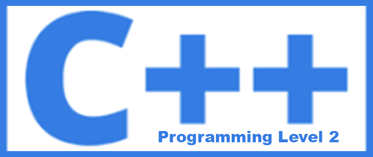 CSIS 123A C++ Programming - Level 2
